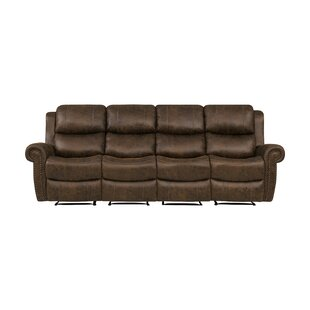 4 Seat Rolled Arm Wall Hugger Recliner Sofa