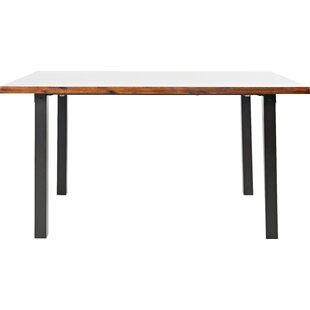 Inexpensive Gypsum Dining Table By Trent Austin Design