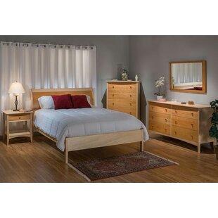 Wingler Sleigh Bed by Loon Peak
