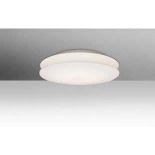 Carnelian 1-Light LED Flush Mount by Latitude Run