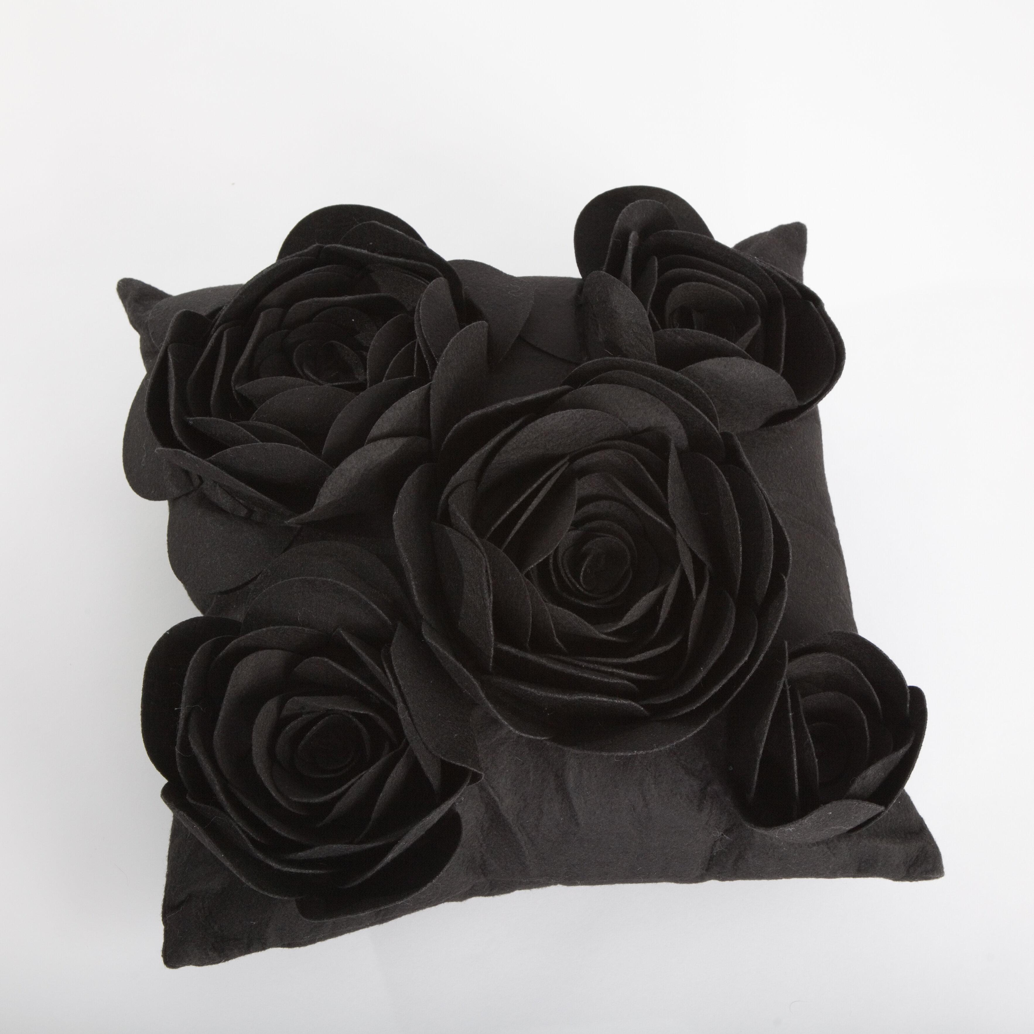Debage Inc Rose Petals Throw Pillow Wayfair