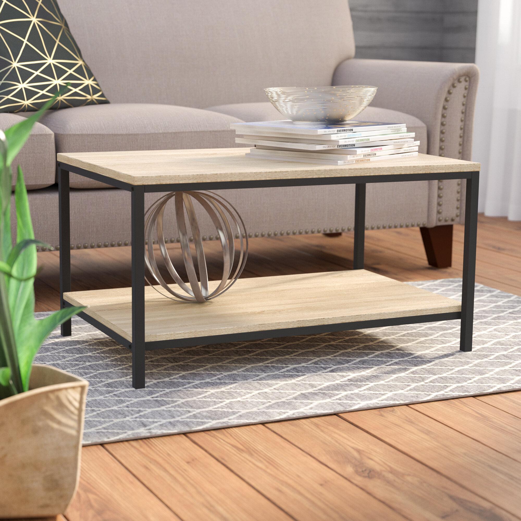 Modern Farmhouse Coffee Tables You Ll Love In 2021 Wayfair