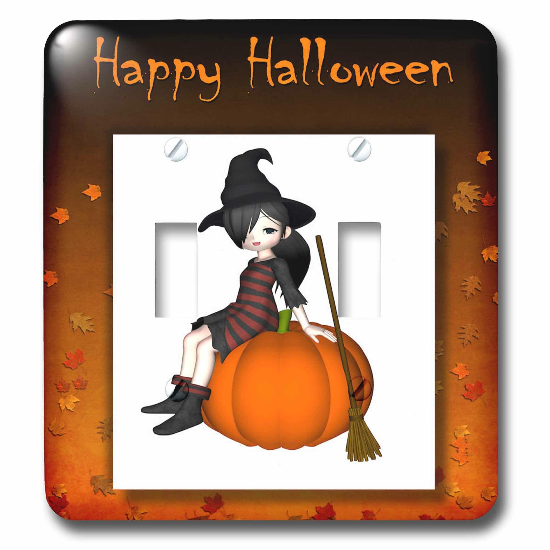 3drose Halloween Double Toggle Light Switch Wayfair