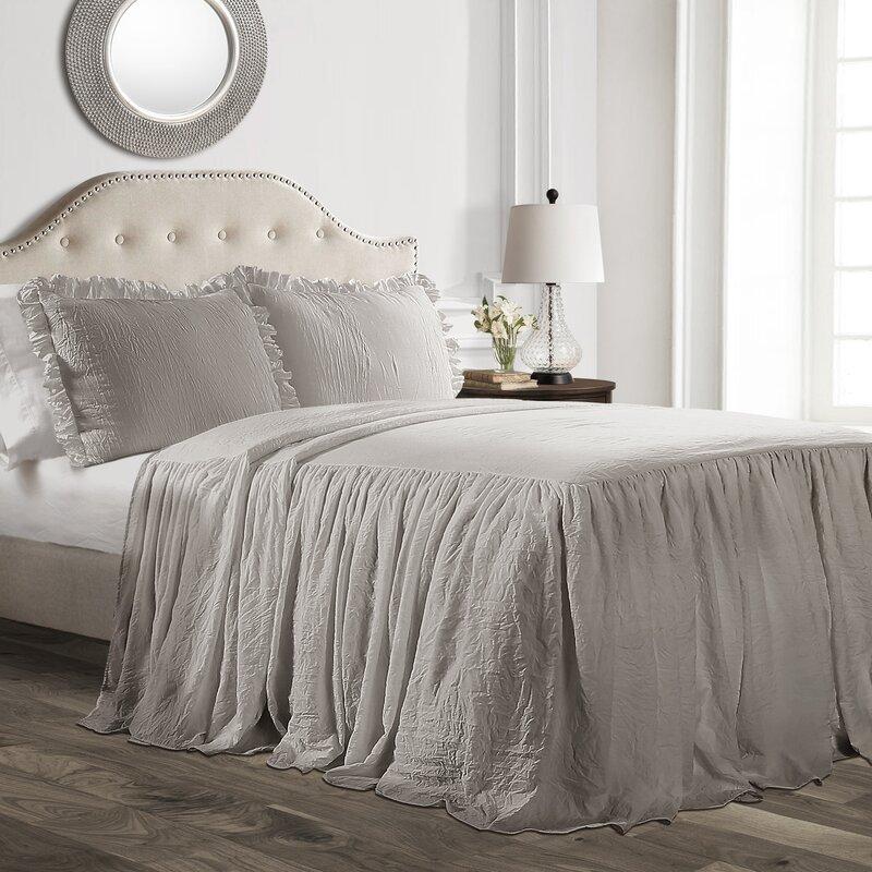 Arrington Ruffle Skirt Bedspread Set