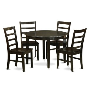 Red Barrel Studio Hillhouse 5 Piece Dining Set