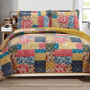 Haddan 3-Piece Reversible Quilt Set