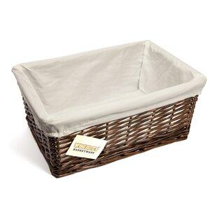 Storage Wicker Basket By Brambly Cottage