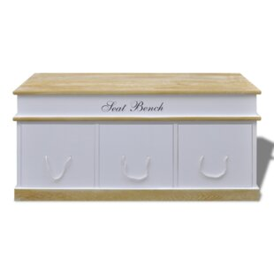Wooden Storage Bench By Home Etc