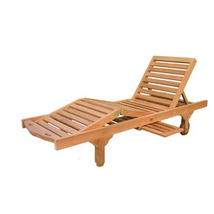 Jewels of Java Reclining Chaise Lounge