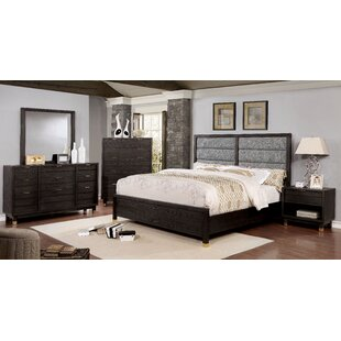 Randeep Contemporary Upholstered Panel Configurable Bedroom Set by Brayden Studio