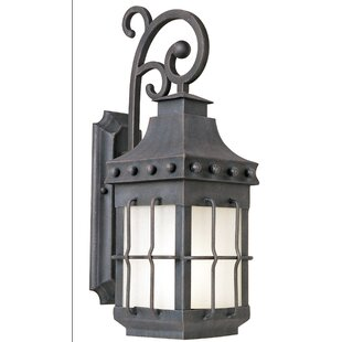 Comparison Roden LED Outdoor Wall Lantern By Loon Peak