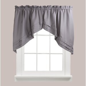 Gladys Swag Curtain Valance (Set of 2)