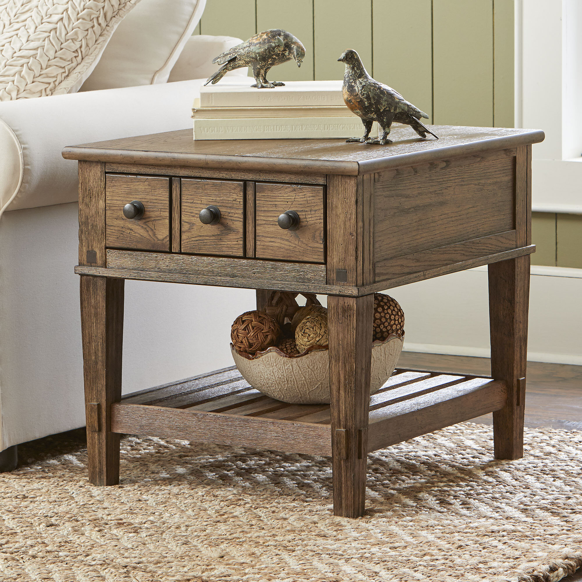 drawers bedside chest chic drawer table louis zoom shabby