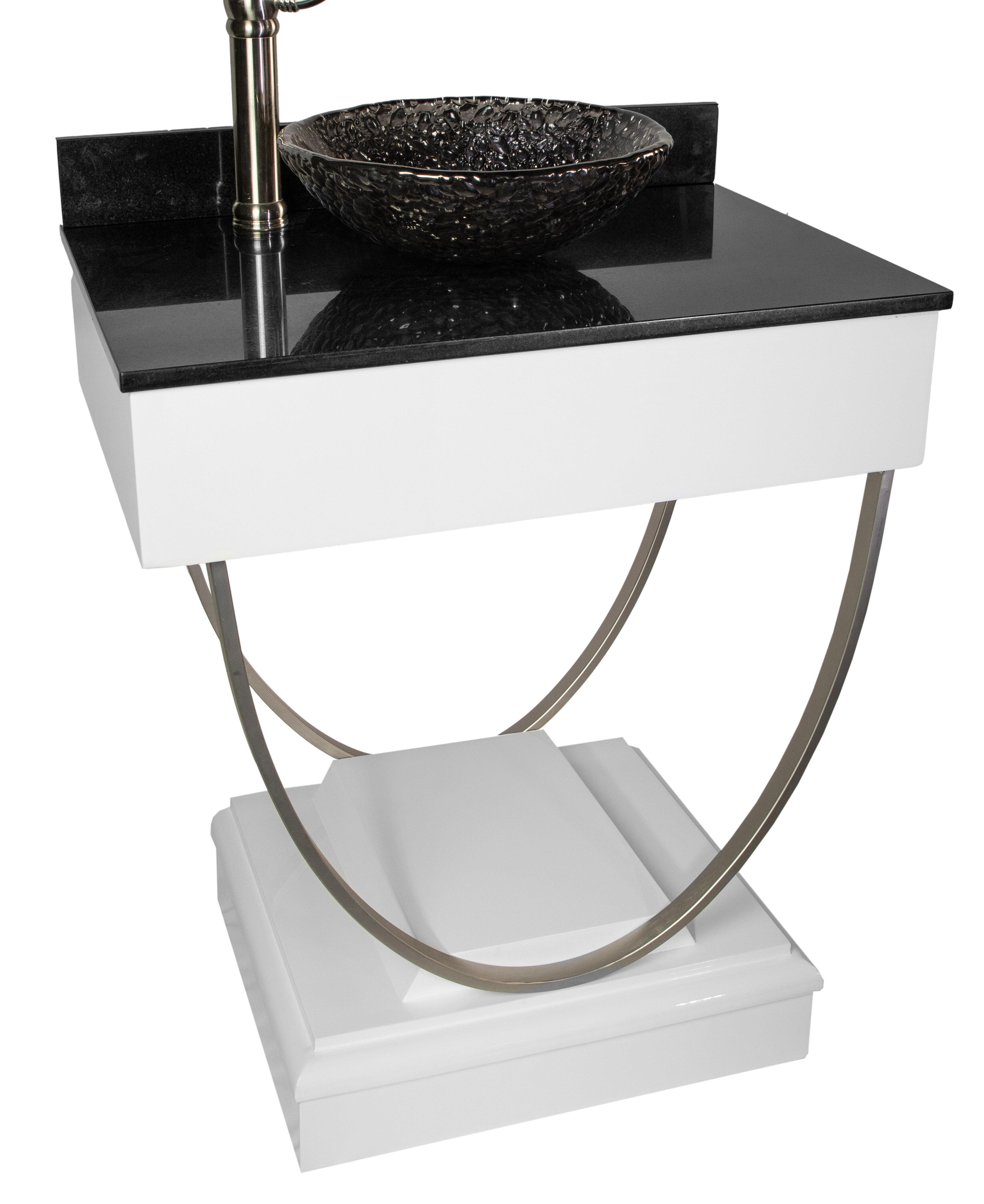 """Ascetic 8"""" Single Bathroom Vanity"""