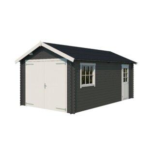 Wilken 11 X 19 Ft. Tongue & Groove Log Cabin By Sol 72 Outdoor