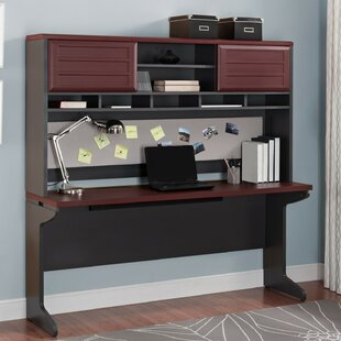 Latitude Run Elizabeth Desk Executive Desk with Hutch
