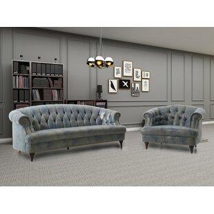 Robertson Configurable Living Room Set by Alcott Hill