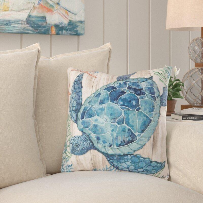 Highland Dunes Cobos Indoor Outdoor Throw Pillow Reviews Wayfair