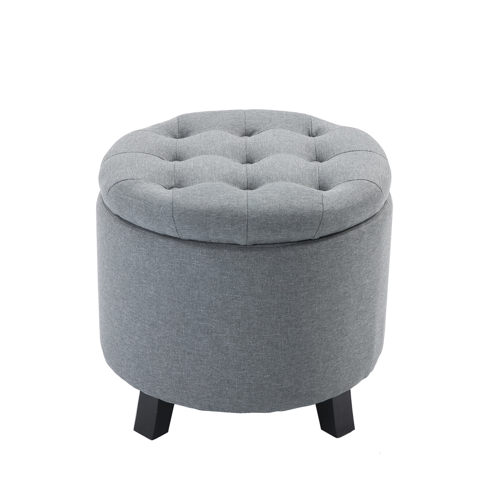 Cool Velasco Tufted Storage Ottoman Ibusinesslaw Wood Chair Design Ideas Ibusinesslaworg