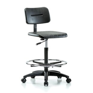 Find Industrial Mid-Back Drafting Chair By Perch Chairs & Stools
