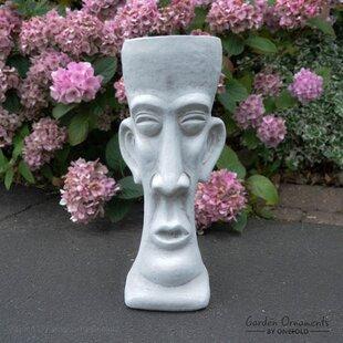 Mak Stone Garden Statue Planter Image