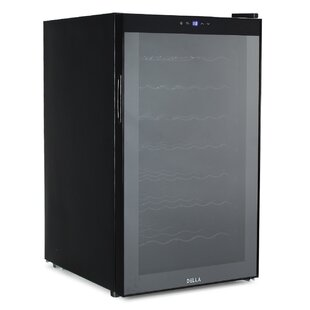 51 Bottle Single Zone Freestanding Wine Cooler