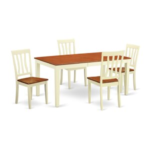 Napoli 5 Piece Dining Set Wooden Importers