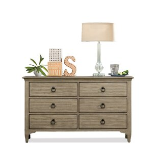 Brenna 6 Drawer Dresser by Highland Dunes