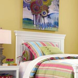 Chassidy Maple Veneers Panel Bed Headboard by Harriet Bee