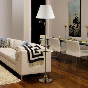 Purchase Lidia 58 Swing Arm Floor Lamp By Latitude Run