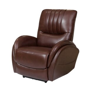 Wieland Leather Power Recliner by Red Barrel Studio