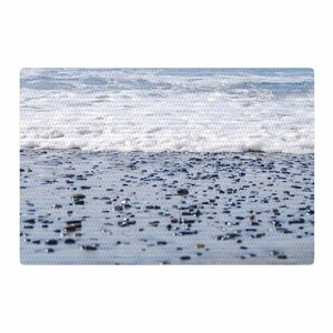 Nick Nareshni Solana Beach Sand Stones White/Gray Area Rug