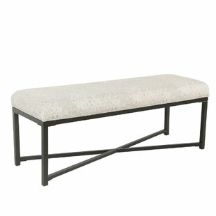August Grove Helmick Rectangle Upholstered Bench