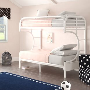 Garey Twin Over Twin Futon Bunk Bed by Zoomie Kids
