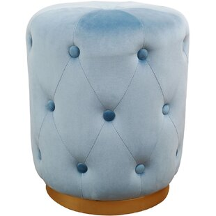 Kiester Skylar Tufted Ottoman by Mercer41