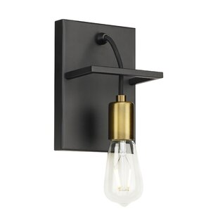 Usry Wall 1-Light Armed Sconce by Brayden Studio