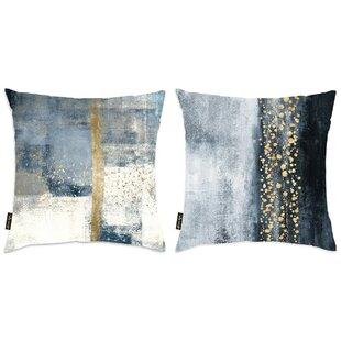 Liesel 2 Piece Abstract Throw Pillow Set