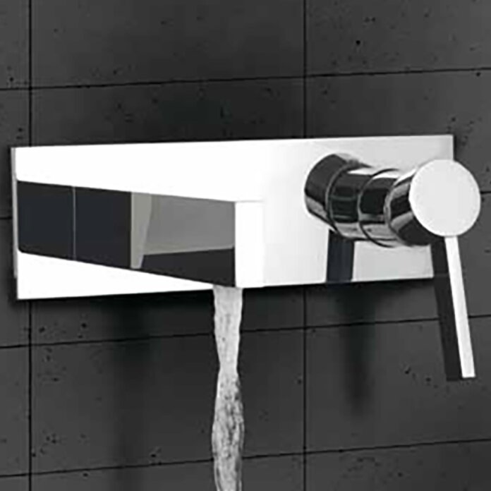 Lovely Caso Wall Mount Bathroom Faucet