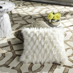 Bellino Luxe Feather Throw Pillow
