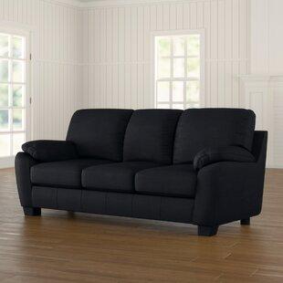 Westende Genuine Leather 3 Seater Sofa By Metro Lane
