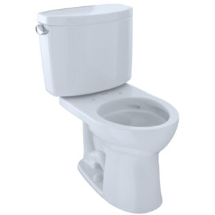 Toto Drake Dual Flush Round Two-Piece Toilet