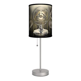 Shop For Music Microphone 20 Table Lamp By Lamp-In-A-Box