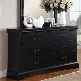 Bois 6 Drawer Dresser by Charlton Home