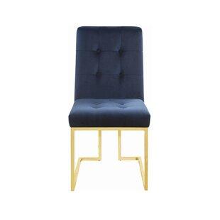 Wellfleet Upholstered Dining Chair (Set of 2) by Everly Quinn