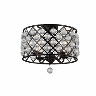 Lutterworth 4-Light Semi Flush Mount by Mercer41