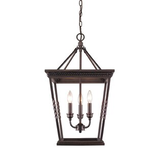 Darby Home Co Northfield 3-Light Lantern Pendant