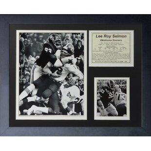 Lee Roy Selmon - Oklahoma Framed Memorabilia By Legends Never Die
