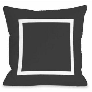 Open Box Outdoor Throw Pillow