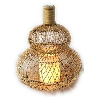 Funderburk Rattan 20 Table Lamp