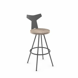 Read Reviews Avondale 26 Swivel Bar Stool by Brayden Studio Reviews (2019) & Buyer's Guide